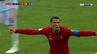 Video برتغال رونالدو تتعادل مع إسبانيا - Ronaldo VS Spain MP3, 3GP, MP4, WEBM, AVI, FLV Desember 2018
