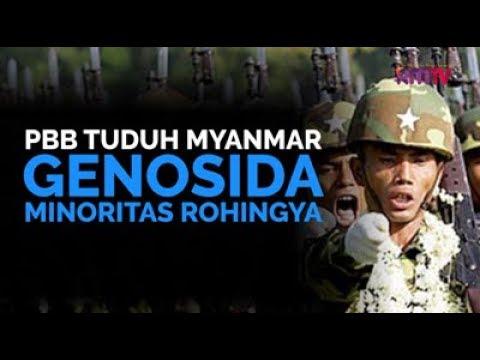 PBB Tuduh Myanmar Genosida Minoritas Rohingya