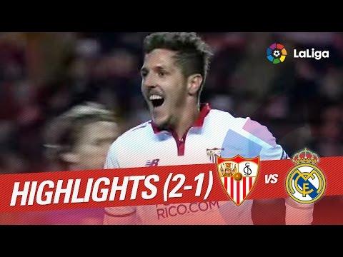 Resumen de Sevilla FC vs Real Madrid (2-1)