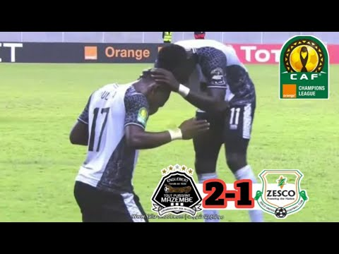 Zesco United vs TP Mazembe 1-2 All Goals & Highlights 2019 HD|CAF Champions League