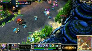 (HD069) 5c5 -Nation War- France Vs Pologne -Part 1- League Of Legends Replay [FR]