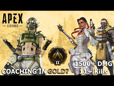 Coaching in Gold! || Apex Ranked ||