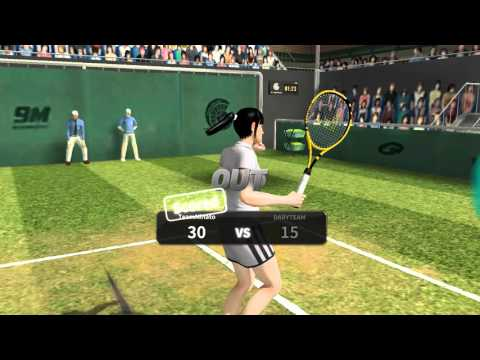 Ultimate Tennis(Android)-Multiplayer Match