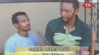 Ethiopian Movies - Behind The Scene - Abay Or Vegas Shots Included