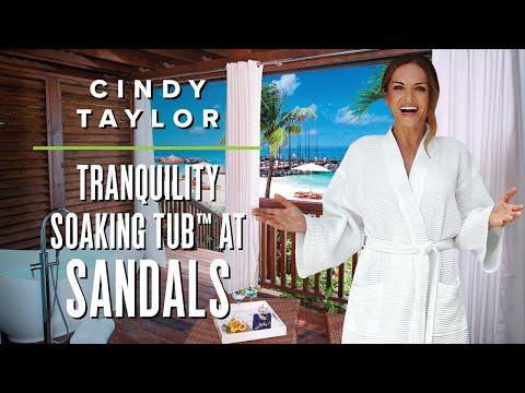 Cindy Taylor - Sandals LaSource Grenada - Tranquility Soaking Tub