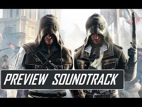 assassin - Assassin's Creed Unity - Official Preview Soundtrack : - Volume 2 composed by Sarah Schachner: https://itunes.apple.com/us/album/assassins-creed-unity-vol./id931665223 - Volume 1 composed...