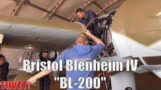 "10. Bristol Blenheim Mark IV Bomber ""BL-200"" Right Wing Attachment - FinAF 100 Years"