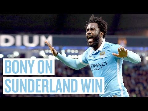 Video: BONY DANCES | Post Match reaction | City 4 1 Sunderland