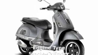 6. 2011 Vespa GTS 300 Super - Specification & Info