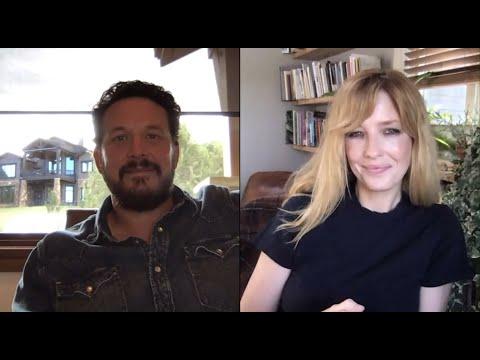 """Yellowstone"" Stars Cole Hauser & Kelly Reilly on Season 3"