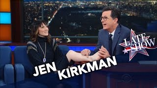 Nonton Stephen Redesigns Comedian Jen Kirkman S Ankle Tattoo Film Subtitle Indonesia Streaming Movie Download