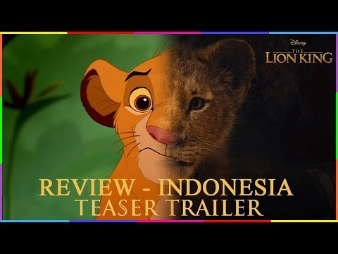 REVIEW FILM THE LION KING 2019 ( INDONESIA )