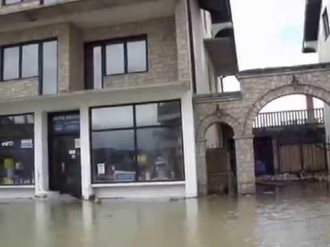 Reka Drina-poplava 2010