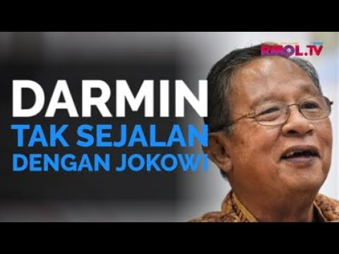 Darmin Tak Sejalan Dengan Jokowi