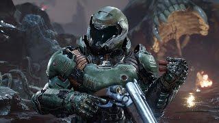 Обложка к игре Doom (2016)