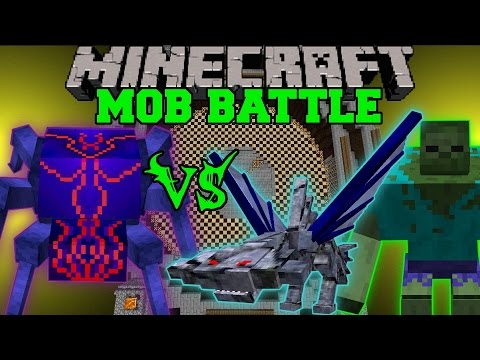 mods - Knight Bug Vs Mutant Zombie & Cephadrome : Who will win the mob battle?! Don't forget to subscribe for more battles and epic Minecraft content! Facebook! https://www.facebook.com/pages/PopularMMOs/...