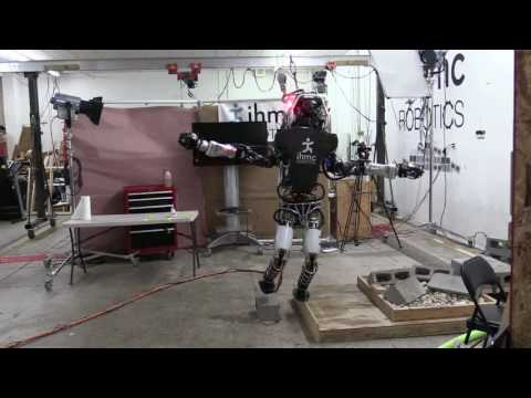 Boston Dynamics Latest Humanoid Robot Balancing On One