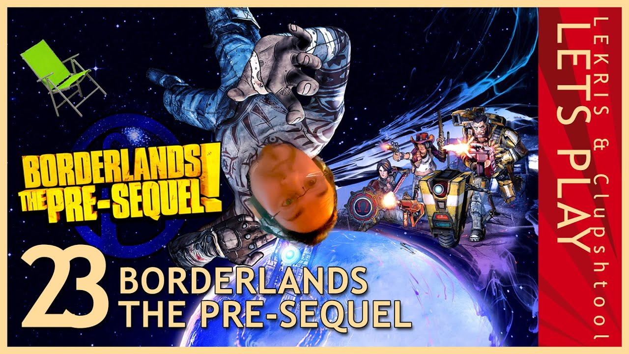 Let's Play Together Borderlands - The Pre-Sequel #23 - Pappplakate kleben...nochmal