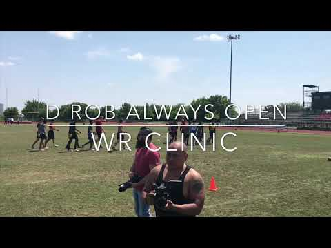 D Rob Always Open June 3rd Wr Clinic