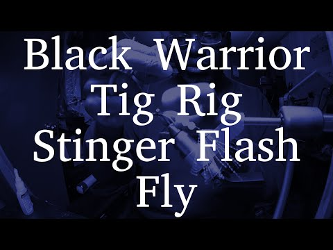 Black Warrior Tip Rig | Tandem Streamer | Stinger Flash