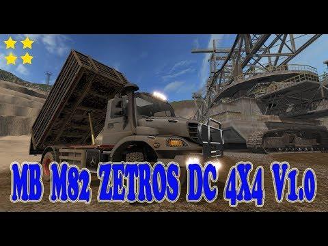 MB M82 Zetros DC 4x4 v1.0