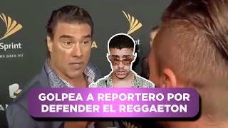 PARODIA: Eduardo Yañez golpea a reportero por defender a Maluma.