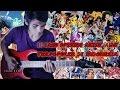 10 Lagu Opening Anime Jepang 90an Terpopuler Di Indonesia__ Versi Rock Guitar Cover By Mr. JOM