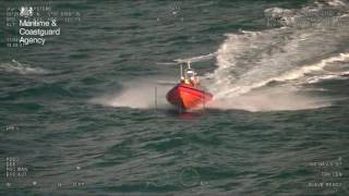 One person has been rescued after his boat sank two nautical miles off Newquay this afternoon (Friday 4 November 2016) A Mayday call was received by the UK C...