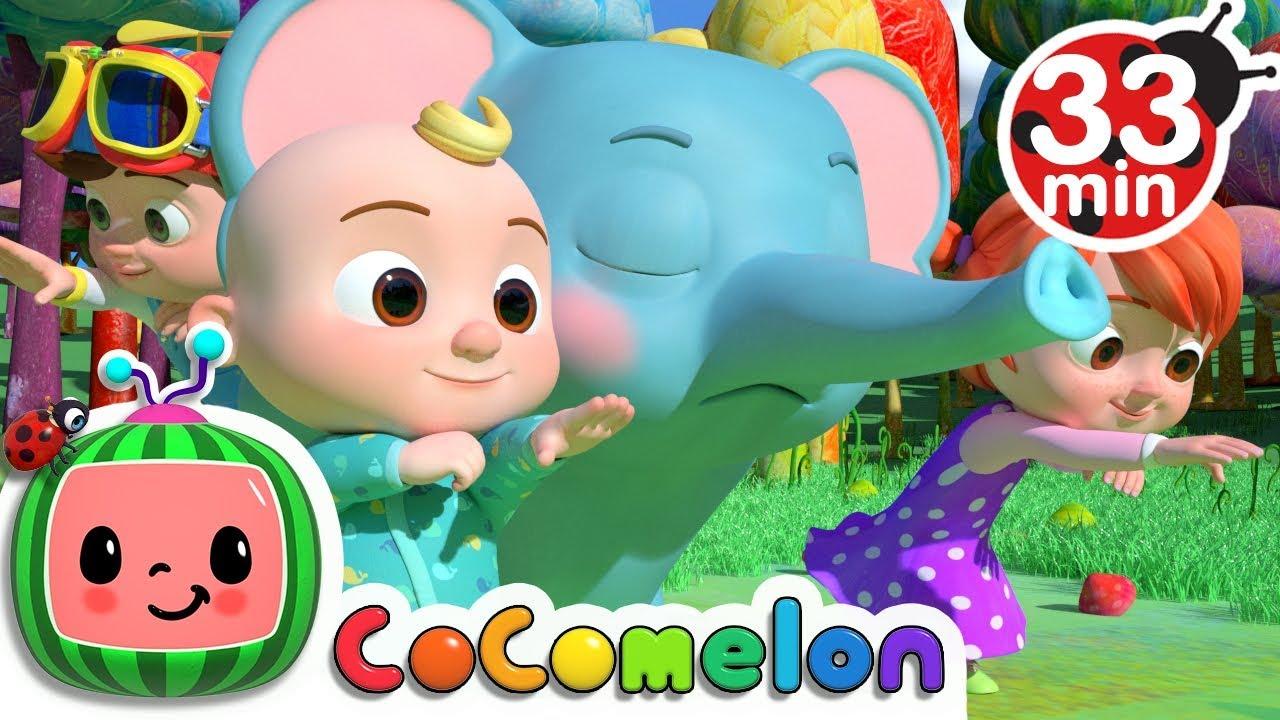Animal Dance | +More Nursery Rhymes & Kids Songs - CoCoMelon - YouTube
