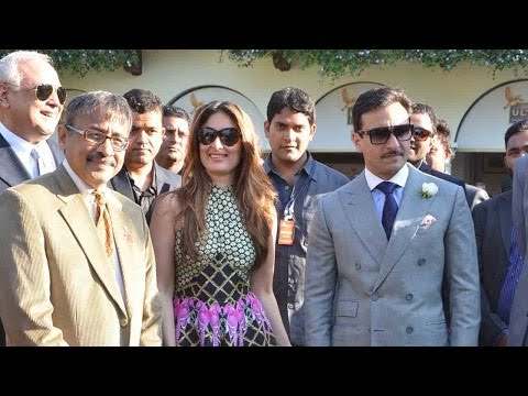 Saif Ali Khan And Kareena Kapoor Khan Get Royal We