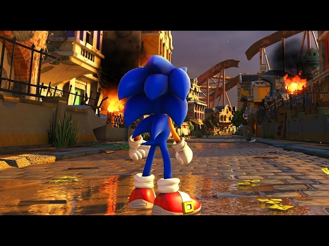 Sonic Forces Gameplay Reveal Trailer