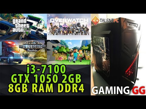 Rendimiento en juegos de una PC Gamer barata con i3-7100 y GTX 1050 | Gaming GG Pruebas