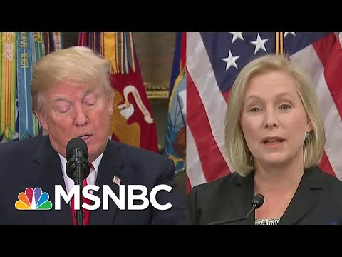 Mika On Trump's Tweet About Gillibrand: The President Should Have Apologized   Morning Joe   MSNBC