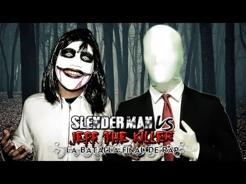 Slenderman VS Jeff the Killer. La Batalla Final de Rap (Especial Halloween) | Keyblade