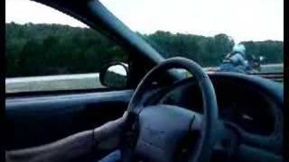 10. 98 Kawasaki EX500 vs 2004 mustang GT