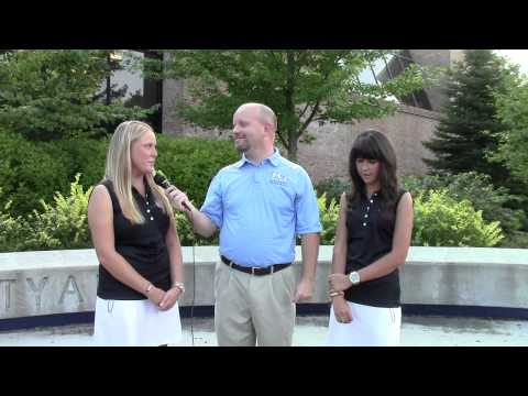 Northwood Women's Golf - Amee Cox & Brittany Davidson Interview