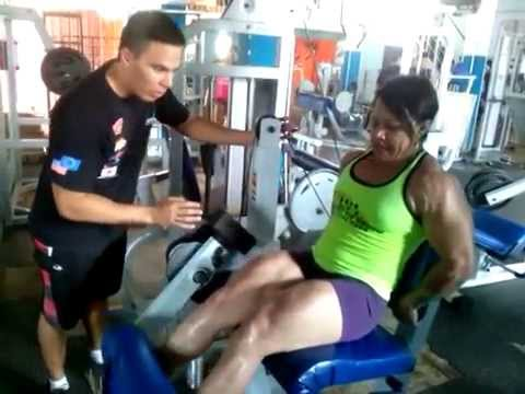 Claudete Santana – Female Muscle Workout