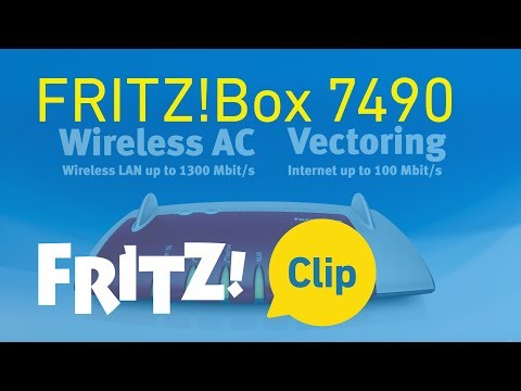 AVM FRITZ! Clip: FRITZ!Box 7490 - modello di punta per Internet, telefonia e multimedia