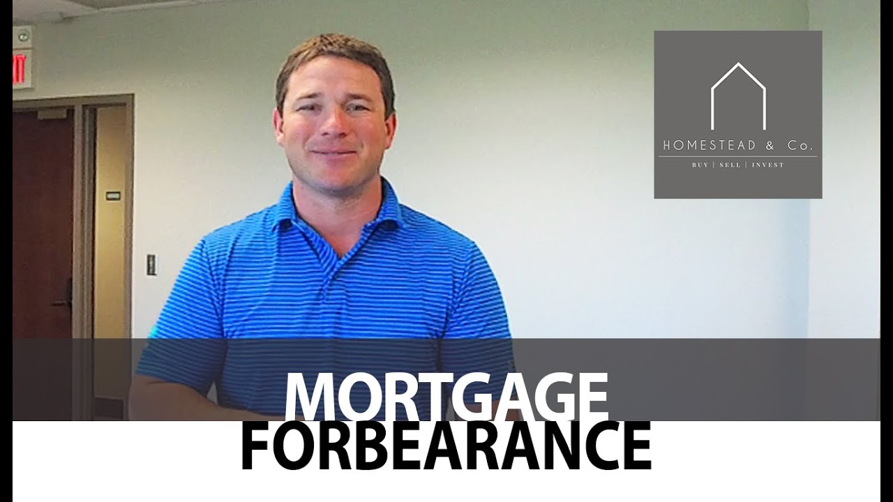A Key Stipulation Regarding Mortgage Forbearances