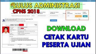 Download Video SELAMAT KAMU LULUS, BEGINI CARA DOWNLOAD KARTU PESERTA TEST SKD SKB CPNS 2018 ( Sample ) MP3 3GP MP4