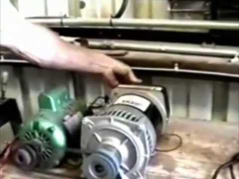 Self Running Motor-Generator unit (www.witts.ws)