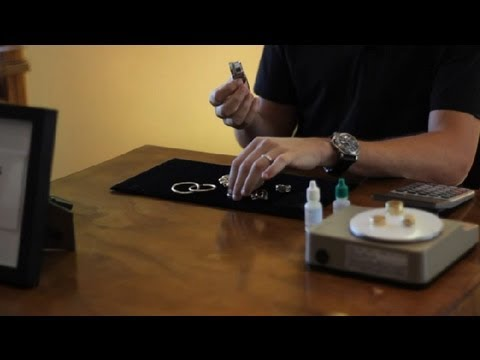 How to Identify White Gold Jewelry : Gold Buying & Selling