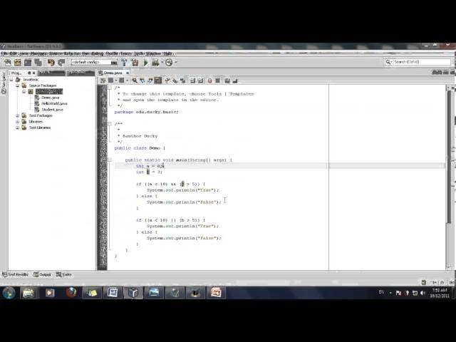[Java cơ bản] Bài 12: Biểu thức Boolean