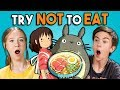 Download Lagu Try Not To Eat Challenge - Anime Food | Teens & College Kids Vs. Food Mp3 Free