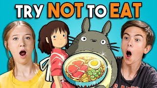 Video Try Not To Eat Challenge - Anime Food | Teens & College Kids Vs. Food MP3, 3GP, MP4, WEBM, AVI, FLV Februari 2019