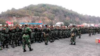 Video Yel yel Angkatan Laut di HUT TNI ke 70 MP3, 3GP, MP4, WEBM, AVI, FLV Januari 2019