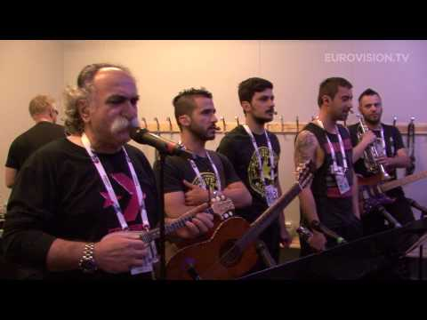 alcohol - Powered by http://www.eurovision.tv The group Koza Mostra has got together with the popular rebetiko singer Agathon Iakovidis to perform the song Alcohol Is ...