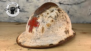 Red-Cross Helmet Restoration