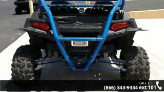 8. 2012 Polaris Ranger RZR XP 900 Voodoo Blue/White/Black LE...