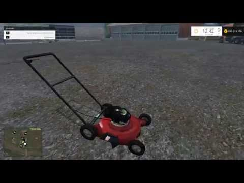 Push Lawn Mower v1.0